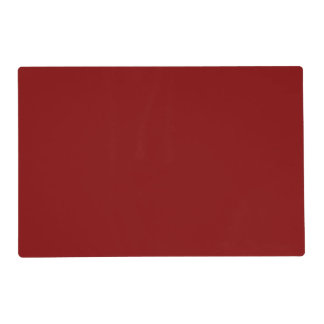 Maroon Solid Color Placemat