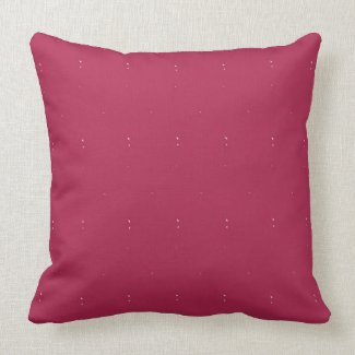"Maroon Solid with Flecks Throw Pillow 20"" x 20"""