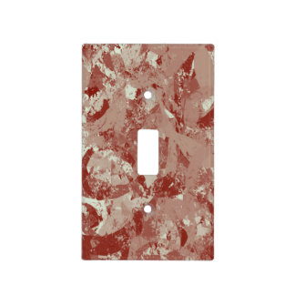 Maroon Splash Light Switch Cover Switch Plate Cover