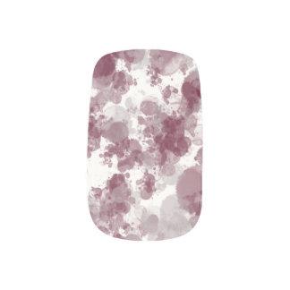 Maroon Splash Minx Nails Minx® Nail Wraps