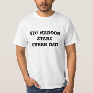Maroon Starz Cheer Dad Shirt