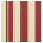 [ Thumbnail: Maroon & Tan Colored Pattern Fabric ]