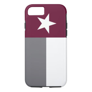 Maroon Texas Flag iPhone 7 Case