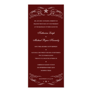 Texas Wedding Invitations Announcements Zazzle