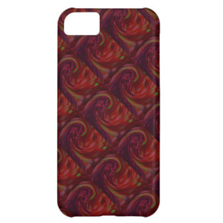 Maroon Wave iPhone 5C Cover