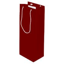 Maroon Wine Gift Bag