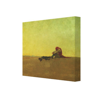 Marooned by Howard Pyle Canvas Print
