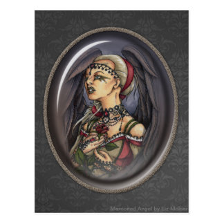 Marooned - Gothic Angel Portrait 2 Postcard