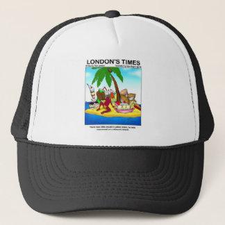 Marooned On Dessert Island Funny Tees & Gifts Trucker Hat