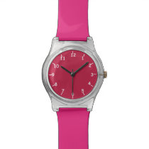 Marooned on Pink Wrist Watch