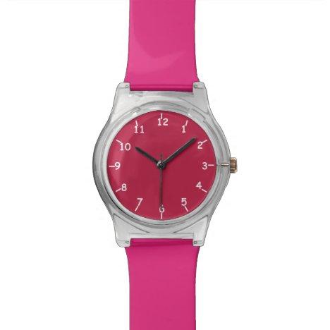 Marooned on Pink Wrist Watch