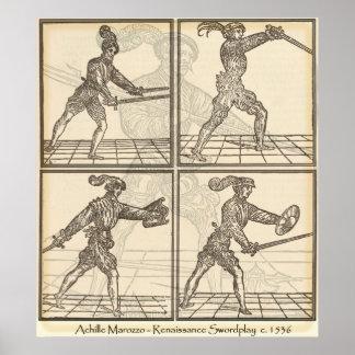 Marozzo Swordplay Poster