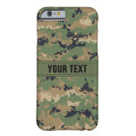 MarPat Digital Woodland Camo #2 Personalized Barely There iPhone 6 Case