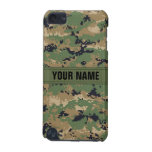 MarPat Digital Woodland Camo #2 Personalized iPod Touch (5th Generation) Cases
