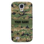 MarPat Digital Woodland Camo #2 Personalized Samsung Galaxy S4 Case