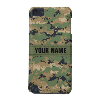MarPat Digital Woodland Camo #2 Personalized iPod Touch 5G Cover