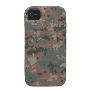 MarPat Digital Woodland Camouflage 'Vibe' iPhone 4/4S Cases