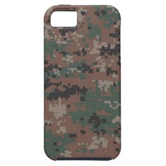 MarPat Digital Woodland Camouflage 'Vibe' iPhone SE/5/5s Case