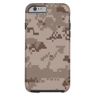 MARPAT Marines Desert Camo Pattern iPhone Tough iPhone 6 Case