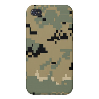 MARPAT Marines Digital Woodland Camo Pattern iphon iPhone 4 Cover