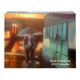 Marque el calendario del arte de Patrick