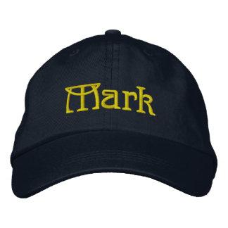 MARQUE el casquillo conocido dado del diseñador Gorra De Béisbol