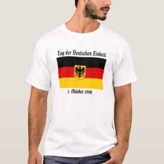 Marque el der con etiqueta Deutschen Einheit, 3. Playera