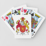 Marque el escudo de la familia barajas de cartas