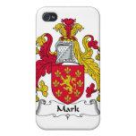 Marque el escudo de la familia iPhone 4 cárcasa