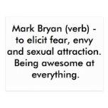 Marque el verbo de Bryan Tarjetas Postales