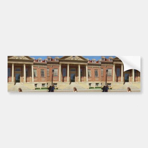 Marque la biblioteca de Smith en la universidad de Etiqueta De Parachoque