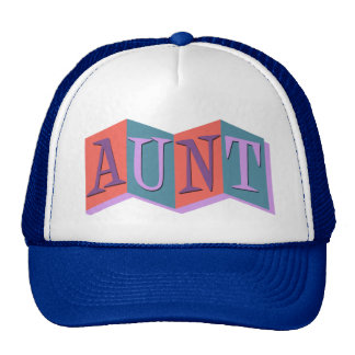 Marquee Aunt Mesh Hats
