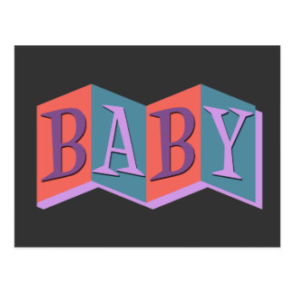 Marquee Baby Postcard