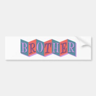 Marquee Brother Bumper Sticker