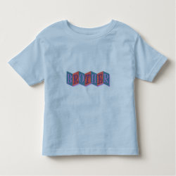 Toddler Fine Jersey T-Shirt with Retro Marquee Brother design