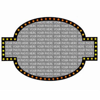 Marquee Custom Photo Frame Magnet Photo Sculpture Magnet