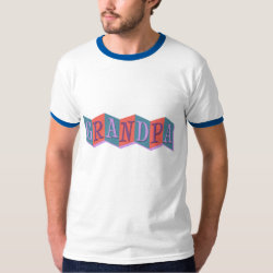 Marquee Grandpa Men's Basic Ringer T-Shirt