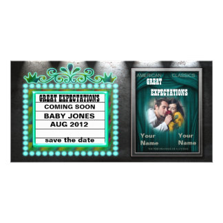 "Marquee ""GREAT EXPECTATIONS"" Card"
