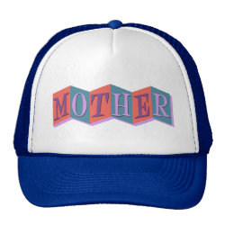 Trucker Hat with Marquee Mother design