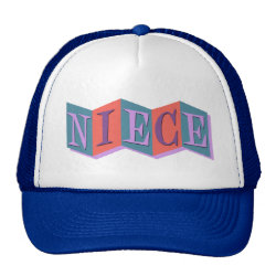 Trucker Hat with Marquee Niece design