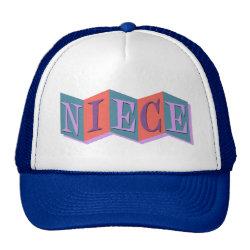 Trucker Hat with Marquee Niece design