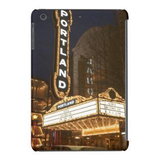 Marquee of Arlene Schnitzer auditorium iPad Mini Retina Case