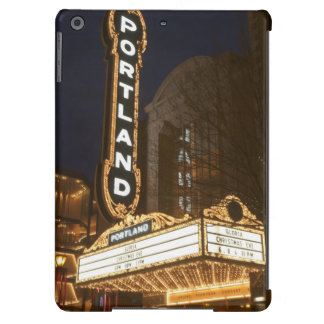 Marquee of Arlene Schnitzer auditorium Cover For iPad Air