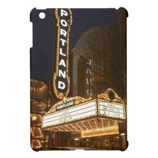 Marquee of Arlene Schnitzer auditorium iPad Mini Case