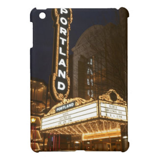 Marquee of Arlene Schnitzer auditorium Cover For The iPad Mini