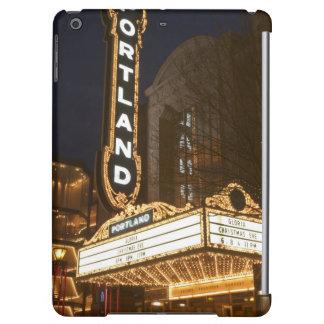 Marquee of Arlene Schnitzer auditorium iPad Air Cover