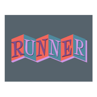 Marquee Runner Postcard