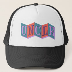 Trucker Hat with Marquee Uncle design