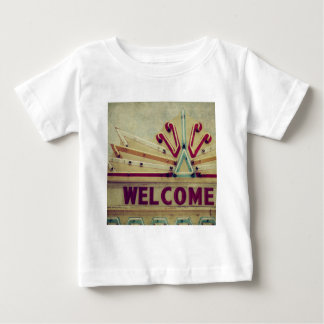 Marquee Welcome Sign Baby T-Shirt