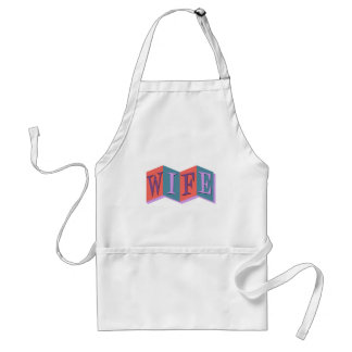 Marquee Wife Adult Apron